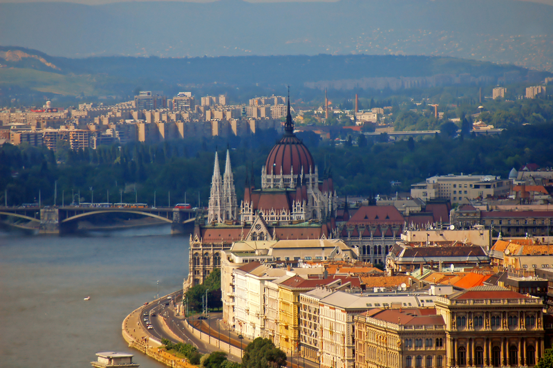 Budapest, the Largest City in central Europe
